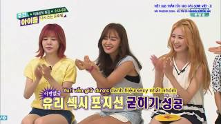 [VIỆT SUB] 150826 Weekly Idol EP213 SNSD - Part 1