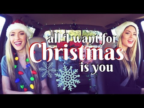 """""""All I Want For Christmas Is You"""" CAR SESSIONS!!!   Diamond Dixie"""