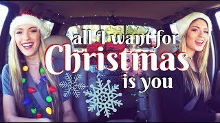 """""""All I Want For Christmas Is You"""" CAR SESSIONS!!! 