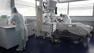 WHO warns hospitals struggling as COVID-19 surge in Europe continues