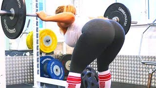 ANNA NYSTRÖM - She Squats More Than You Bro - Amazing Workout Girl Motivation