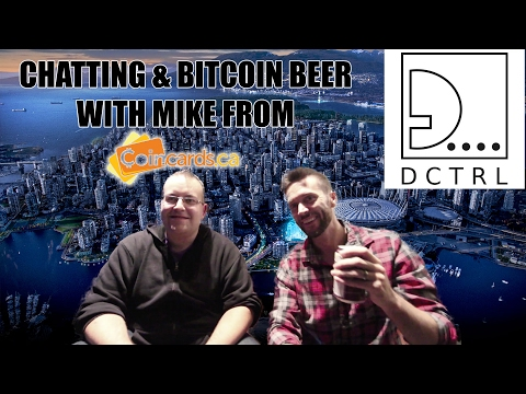 Bitcoin Beer Vending Machines, Scaling, and Living on BTC