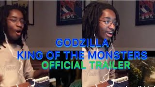 Godzilla: King of the Monsters - Official Trailer - YAHTZEE Reaction
