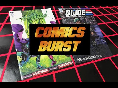 COMICS BURST - TF VS VISIONARIES #5 & G.I. JOE ARAH #251