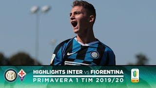 INTER 1-0 FIORENTINA | PRIMAVERA HIGHLIGHTS | Sebastiano Esposito decides the match!