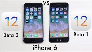 iOS 12 BETA 2 Vs iOS 12 BETA 1 On iPHONE 6! (Comparison)