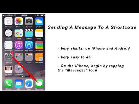 shortcode messaging howto video
