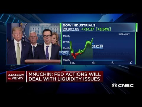 Mnuchin confirms plan for $1000 cash payments to all Americans ...