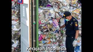 Indonesia pulangkan sampah