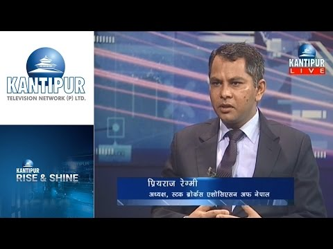 Priyaraj Regmi interview in Rise & Shine on Kantipur Television