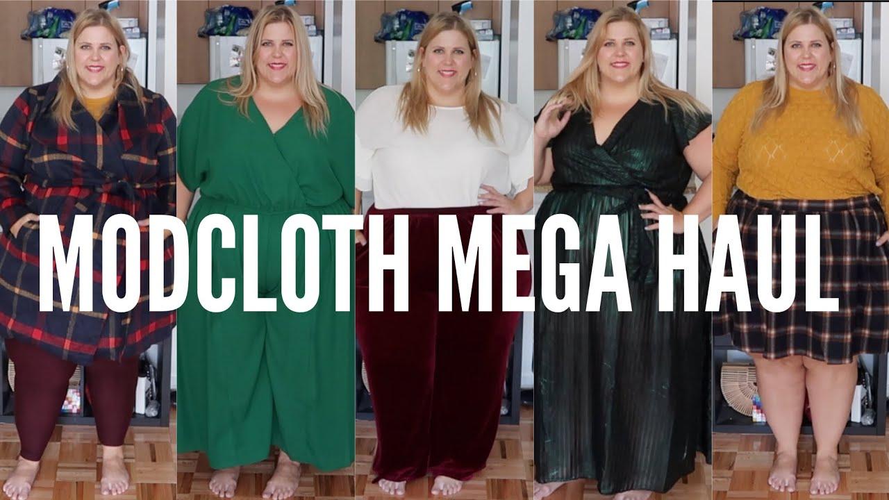 f5fb2a269d2 Mega Modcloth Plus Size Fall Haul  This Haul is Bangin  - YouTube
