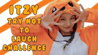 Download lagu ITZY Try Not To Laugh Smile Challenge BEST FUNNY MOMENTS