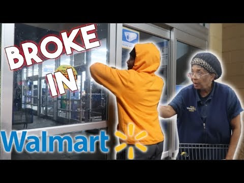 SNEAKING INTO CLOSED WALMART! *ILLEGAL*