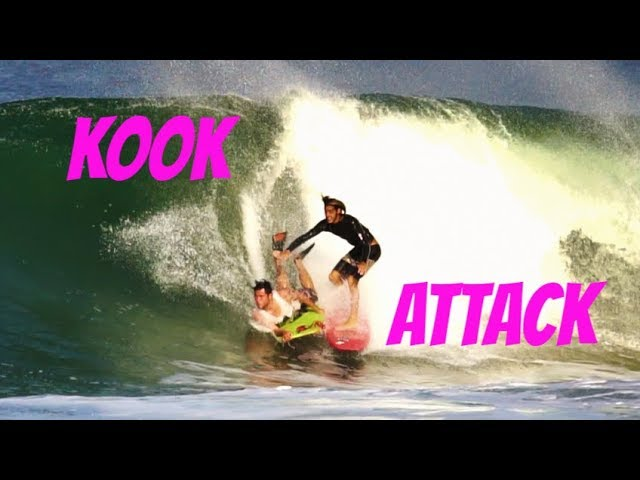 KOOK ATTACK - Don't look, just drop in!