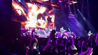 Концерт группы Kiss в Москве 01.05.2017