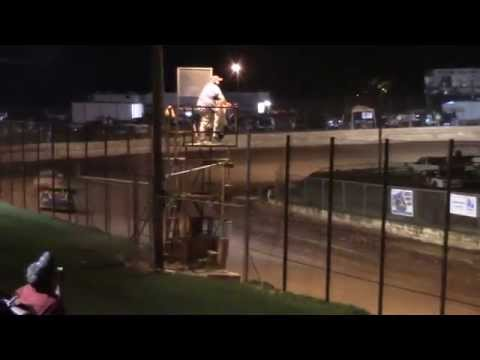 Hartwell Speedway Stock Four Cylinder Race 6/6/15