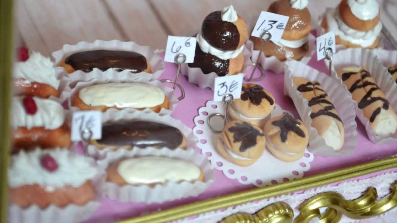 Entry for MiniWhimsy - Hand Made French Patisserie Re Ment - YouTube
