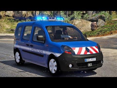 GENDARMERIE NATIONALE #6 - Patrouille en Renault Kangoo 2 - LSPDFR GTA 5 MODS