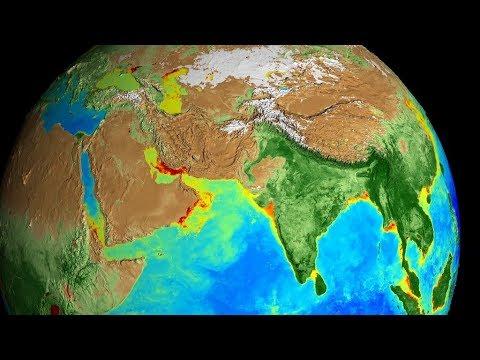 Mostraron los últimos 20 años de la Tierra en un aterrador video