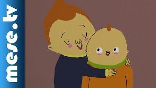Eszter-lánc Mesezenekar: Kistesó (animáció, gyerekdal, MOME) | MESE TV