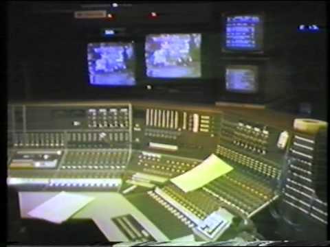 BBC TV Studio B, New Broadcasting House, Manchester - 1981