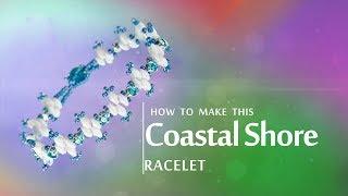Coastal Shore Bracelet   Seed Beads