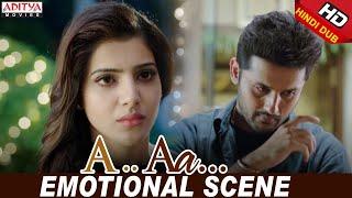 Nithiin Samantha Emotional Love Scene Nithiin Samantha Trivikram A Aa Hindi Dubbed Movie