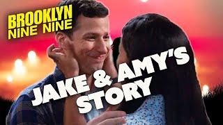 Jake and Amy's Story | Brooklyn Nine-Nine | Comedy Bites
