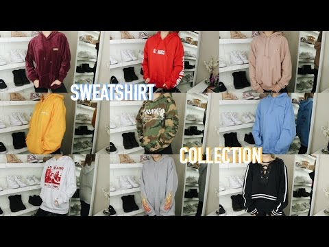 SWEATSHIRT/HOODIE COLLECTION 2016 | Mel Joy