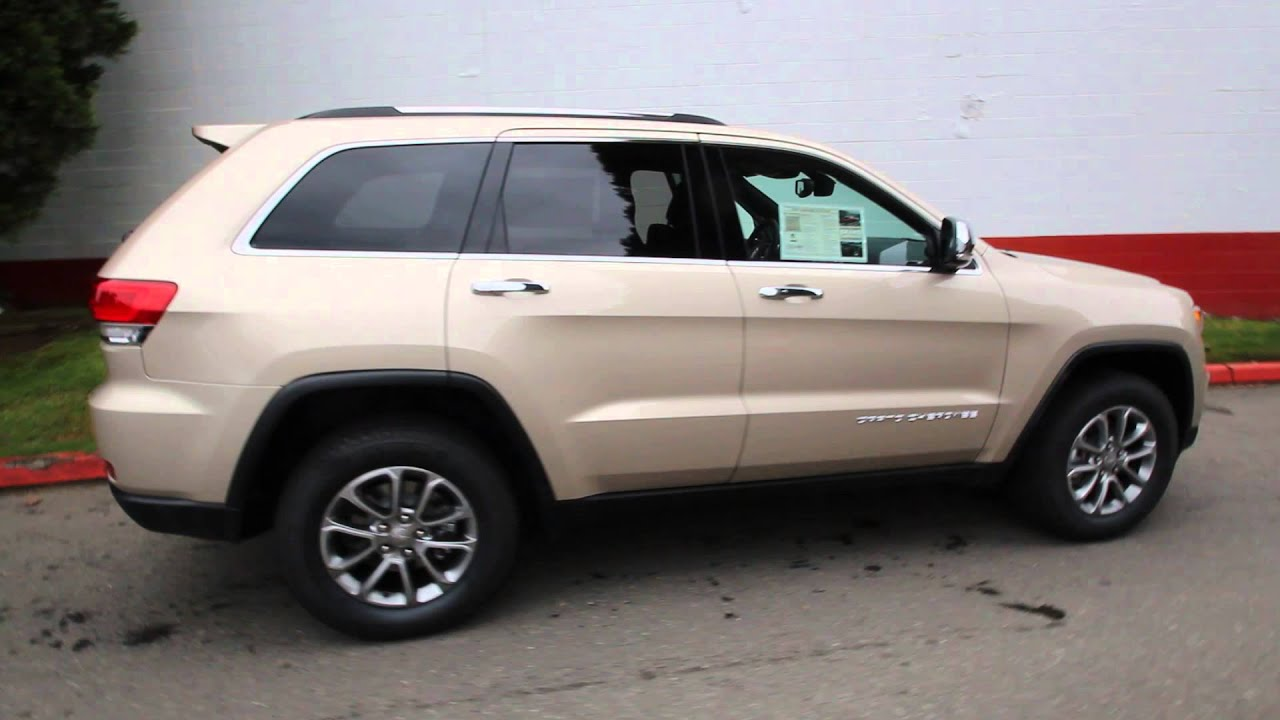 Chrysler Dodge Jeep Ram Of Seattle >> 2014 Jeep Grand Cherokee Limited | Cashmere Pearl | EC432001 | Seattle | Bellevue - YouTube