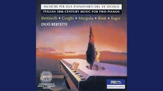 Omaggio a Bach, Op. 32: Variation 2: Poco piu mosso