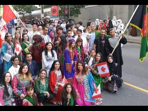 Afghanistan On Canada Day Parade 2016(Afghans In Vancouver)