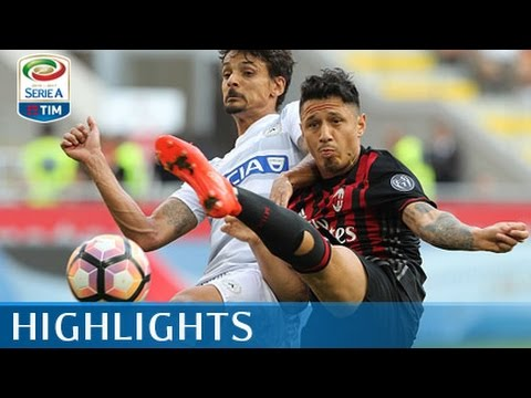 Milan - Udinese - 0-1 - Highlights - Giornata 3 - Serie A TIM 2016/17