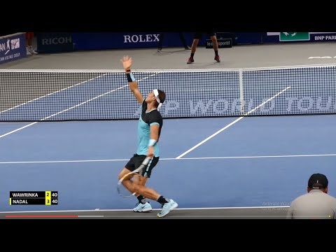 Rafael Nadal vs Stan Wawrinka - PARIS 2015 Highlights HD