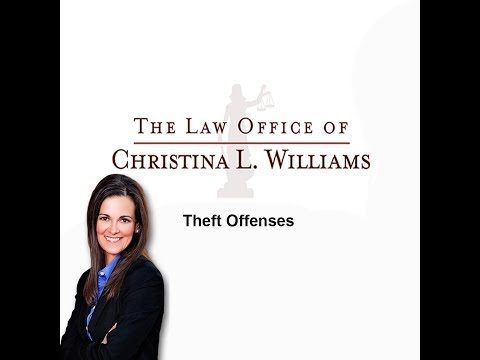 Theft Offenses | Criminal Law Expert