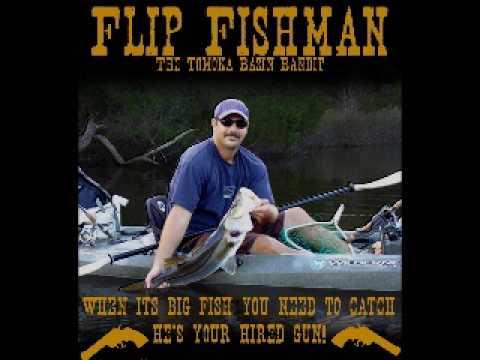 Kayak Fishing Tomoka Basin Flip Fishman Ormond Beach Florida