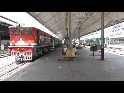 Myanmar Railways - around Yangon Central Station