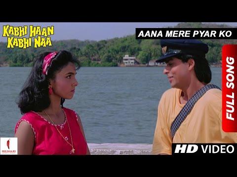 Aana Mere Pyar Ko | Kabhi Haan Kabhi Naa | Shah Rukh Khan, Suchitra Krishnamurthy | Kumar Sanu