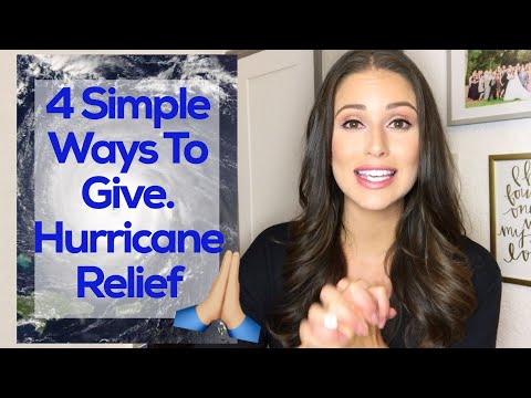 4 Quick and Easy Ways to help with Hurricane Relief | Chai Tea Tuesday with Nia Sanchez ☕️