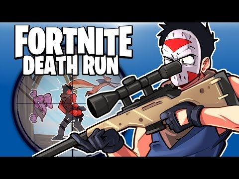 FORTNITE BR - OUR FIRST PLAYGROUND MINI GAME!!!! (Death Run)