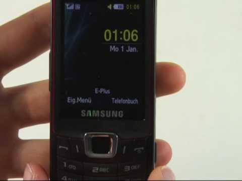 Samsung S7220 Ultra Classic Test Bedienung