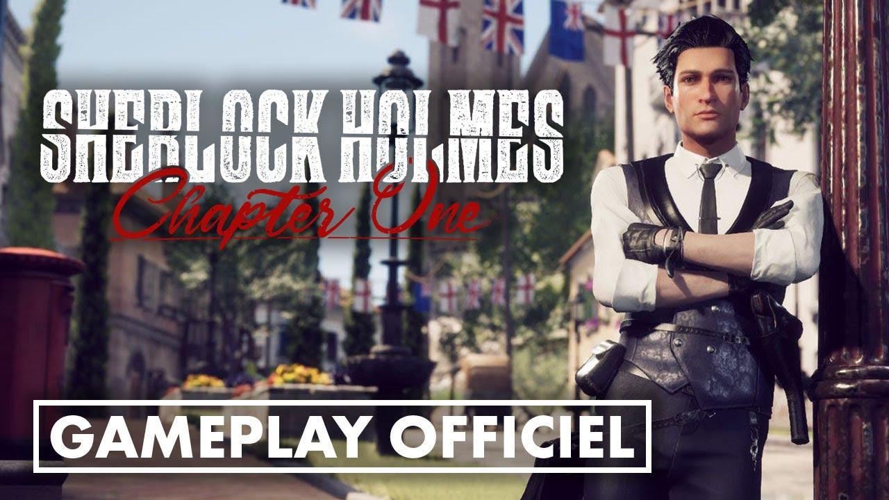 Menez l'ENQUÊTE dans cette séquence de GAMEPLAY de SHERLOCK HOLMES: CHAPTER ONE ! 🔎