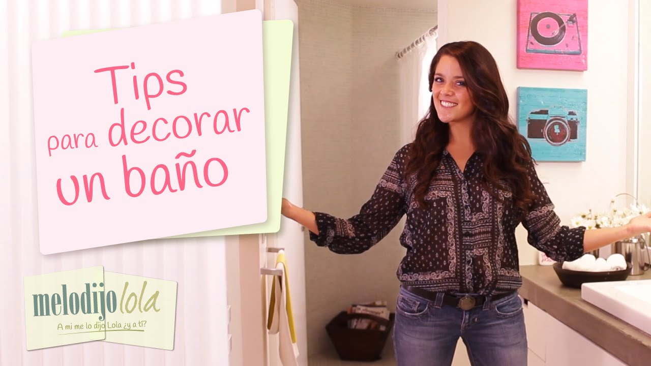 Tips para decorar un ba o c mo decorar un ba o me lo for Cosas para decorar el bano