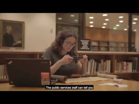 Using The Reading Room And Handling Materials In The Beinecke Library