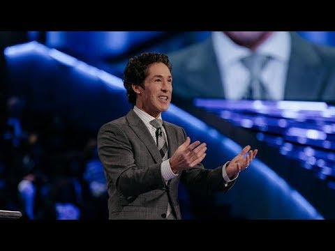 The God Who Crosses His Arms - Joel Osteen