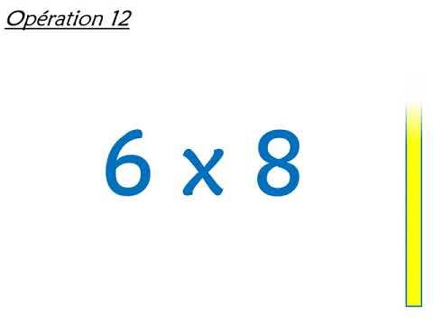 Calcul Mental Cm2 Connaitre Les Tables De Multiplication De 0 A 9