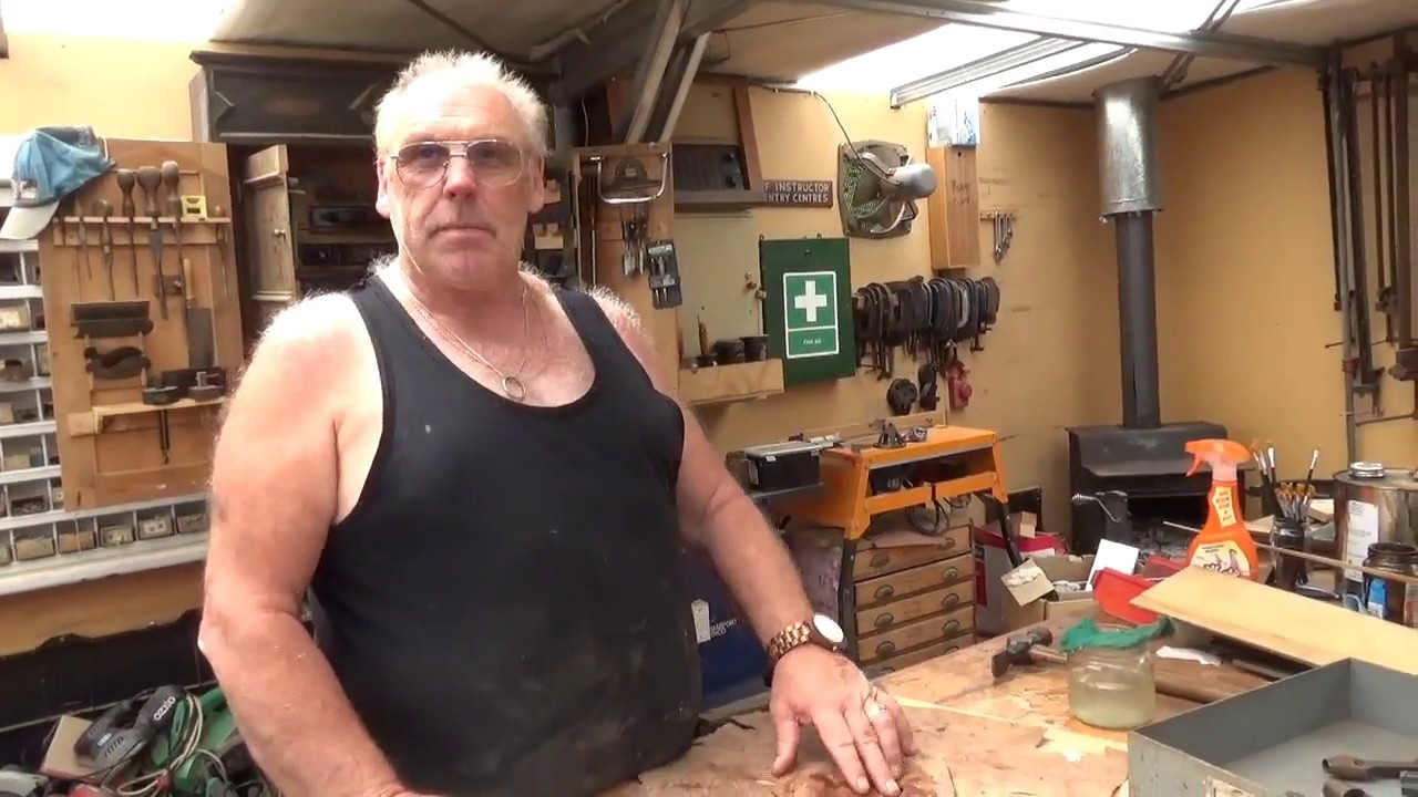 Antique Furniture Restoration How to use veneer punches ...