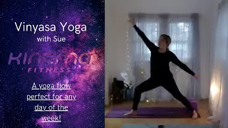 01/22- BE WELL LIVE CLASS VINYASA: With Sue 40 Min