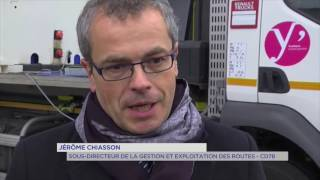 Voierie : lancement du dispositif hivernal pour le département