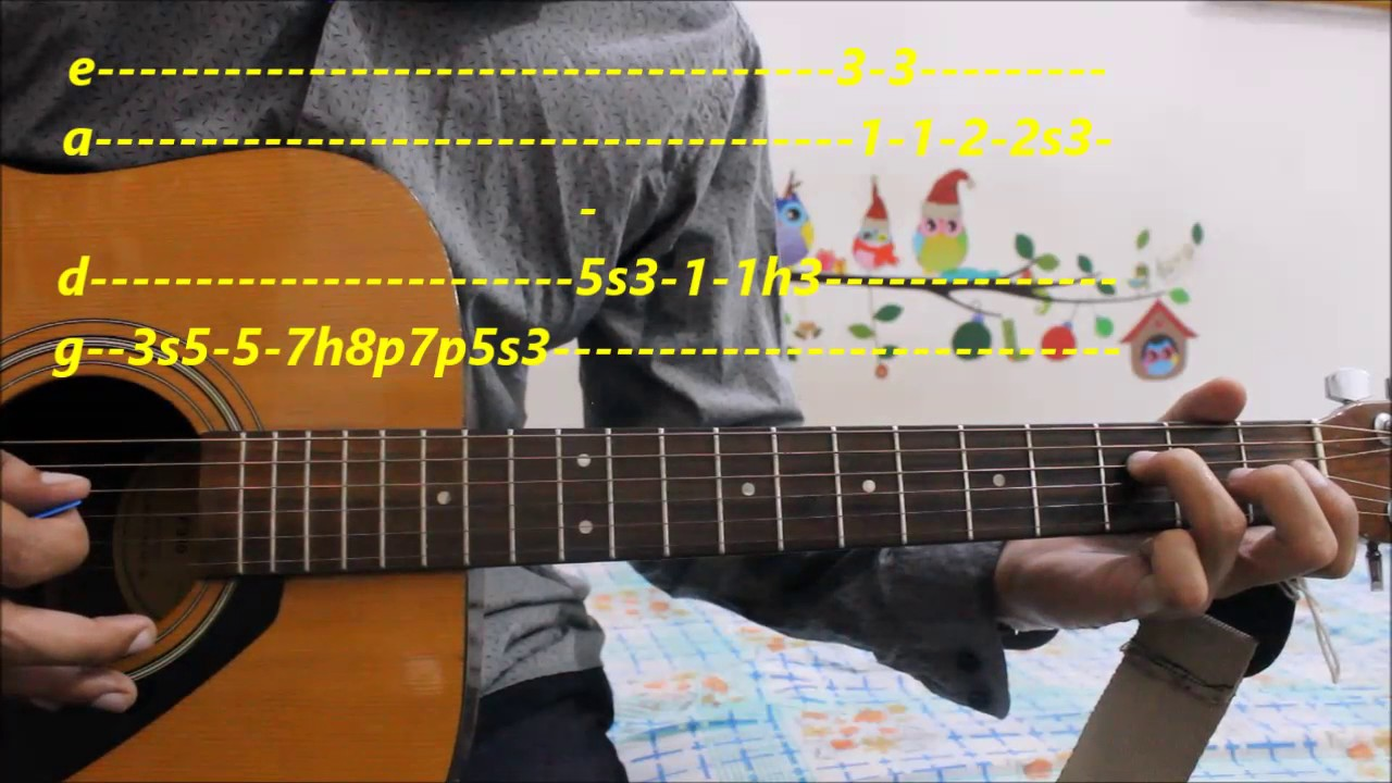 Romantic Lead Song Complete Tabs Guitar Lesson Hindi Bollywood Lead